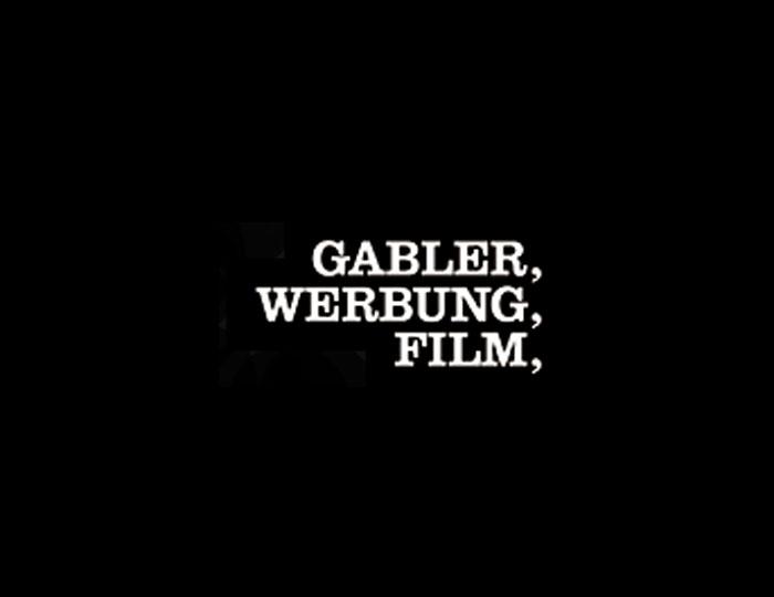 Gabler Werbung Film